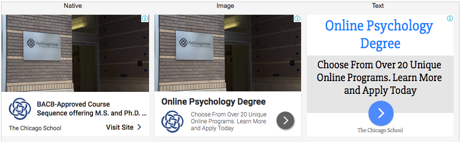 Online Psychology Degree BACB-Approved COurse Sequence